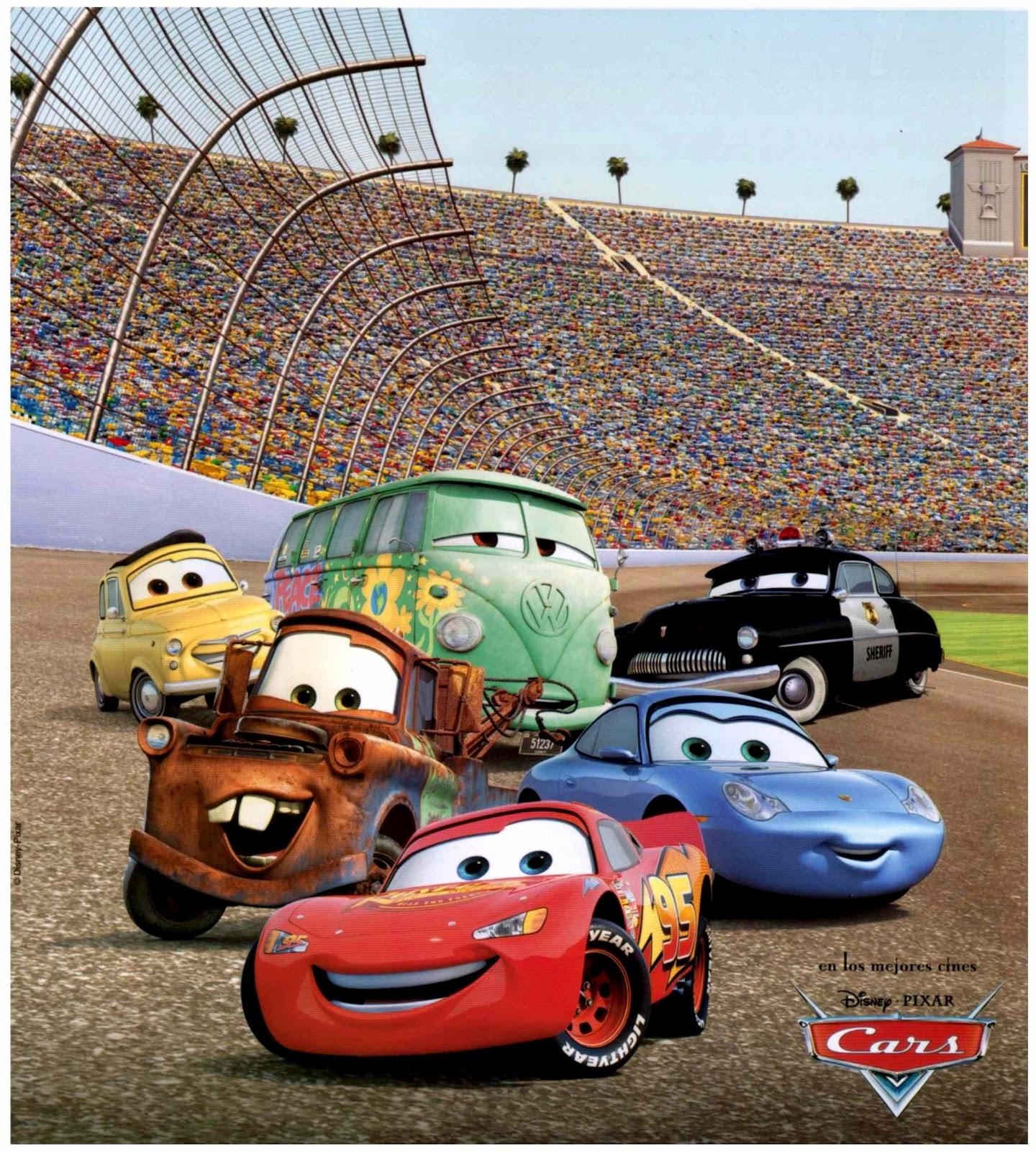 Carros 1 E 2 Cars Disney 20 Minutos Pra Tudo