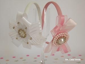 tiara rosa e branca.20minutospratudo