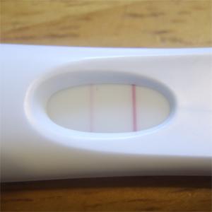teste de gravidez de farmacia negativo